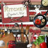 "Digital kit ""Kitchen"" by download"