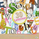 Pack « 30 alphabets » de lettrines en téléchargement