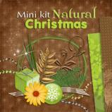 "Mini digital kit ""Natural Christmas"" by download"
