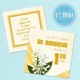 """Carte du 1er Mai """"Un petit brin de bonheur"""" (gratuite)"""