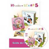 Guide (112 pages) et DVD de Studio-Scrap 5