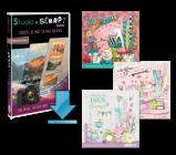 """Pack """" Trio """" avec Studio-Scrap Deluxe  - 3 kits à choisir plus tard en téléchargement"""