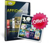 Affiche facile en coffret (inclus Studio-Scrap) + Pack de 10 affiches offert