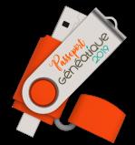 Passeport Généatique 2019 Clé USB