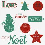Set « Cadeaux de Noël »