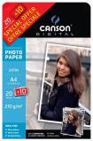 Canson® papier photo Satin - 20 feuilles A4 + 10 offertes - 210gr/m2