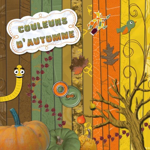 Kit « Couleurs d'automne » - 00 - Présentation