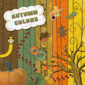 « Automn colors » digital kit - 00 - Presentation