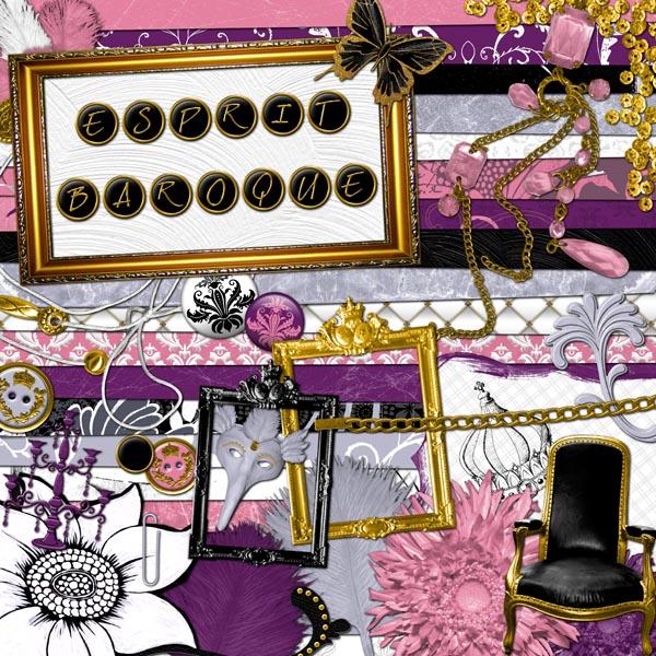 Kit « Esprit baroque » - 00 - Présentation