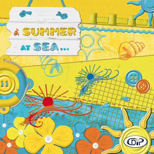 « A summer at sea » digital kit - 00 - Presentation