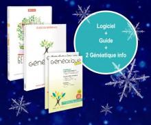 Généatique 2017 Classique 500 en coffret + son guide de référence et 2 numéros de Généatique Info