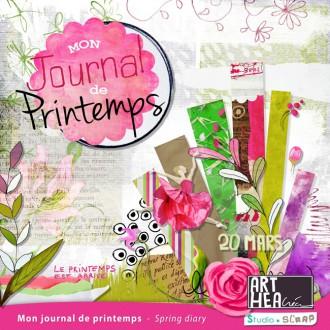 Kit « mon journal de printemps » en téléchargement