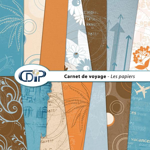 Kit « Carnet de voyage » - 01 - Les textures