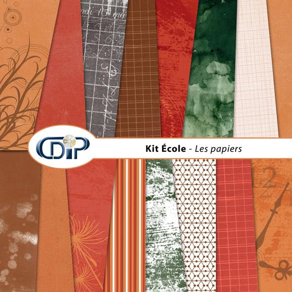 Kit « Ecole » - 01 - Les textures