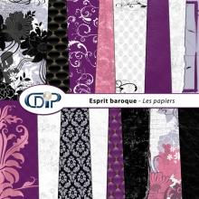 Kit « Esprit baroque » - 01 - Les textures