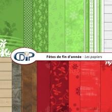 Kit « Fêtes de fin d'année » - 01 - Les textures
