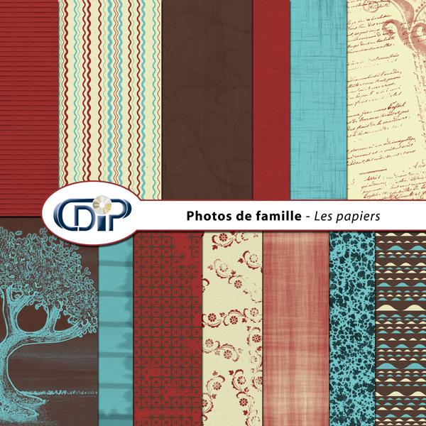 Kit « Photos de famille » - 01 - Les textures