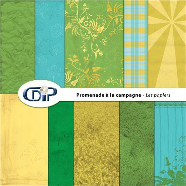 Kit « Promenade à la campagne » - 01 - Les textures