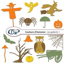 Kit « Couleurs d'automne » - 05 - Les gabarits 1
