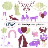 Kit « Mariage » - 05 - Les gabarits 1