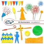 Kit « Anniversaire » - 06 - Les gabarits 2