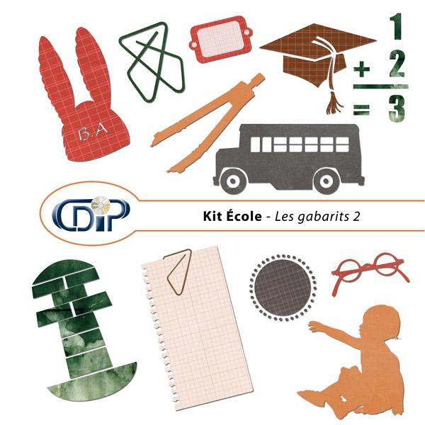 Kit « Ecole » - 06 - Les gabarits 2