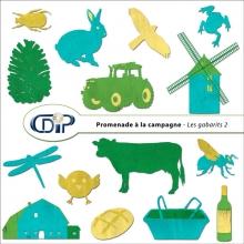 Kit « Promenade à la campagne » - 06 - Les gabarits 2
