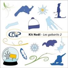 Kit « Hiver » - 06 - Les gabarits 2