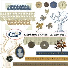 Kit « Photos d'antan » - 02 - Les embellissements 1