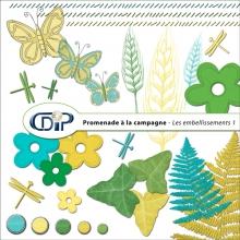 Kit « Promenade à la campagne » - 02 - Les embellissements 1