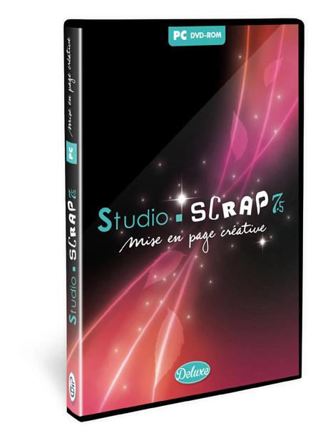 SStudio-Scrap 7.5 Deluxe en coffret