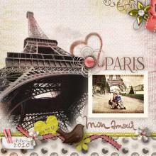 Kit mademoiselle fleur en t l chargement cdip - Scrapbooking paris boutique ...