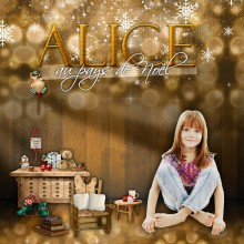 alice in Christmasland