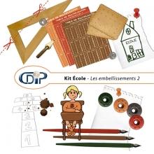 Kit « Ecole » - 03 - Les embellissements 2