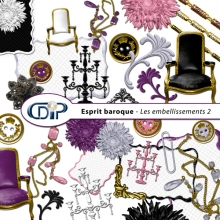 Kit « Esprit baroque » - 03 - Les embellissements 2