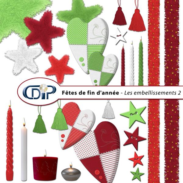 Kit « Fêtes de fin d'année » - 03 - Les embellissements 2