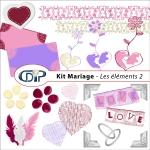 Kit « Mariage » - 03 - Les embellissements 2