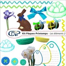 Kit « Pâques-printemps » - 02 - Les embellissements 1