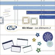 Kit « Hiver » - 03 - Les embellissements 2