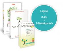 Généatique 2017 Classique 500, son guide et 2 Généatique Info