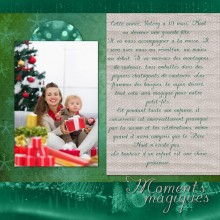 tendre noel double page