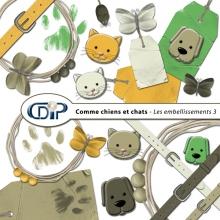Kit « Comme chiens et chats » - 04 - Les embellissements 3