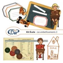 Kit « Ecole » - 04 - Les embellissements 3
