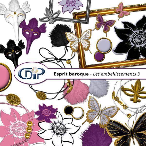 Kit « Esprit baroque » - 04 - Les embellissements 3