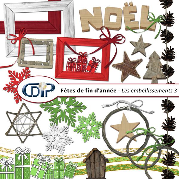 Kit « Fêtes de fin d'année » - 04 - Les embellissements 3