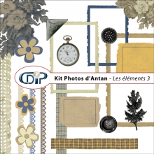 Kit « Photos d'antan » - 04 - Les embellissements 3
