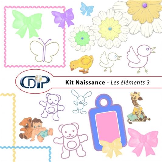 Kit « Naissance » - 04 - Les embellissements 3