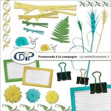 Kit « Promenade à la campagne » - 04 - Les embellissements 3