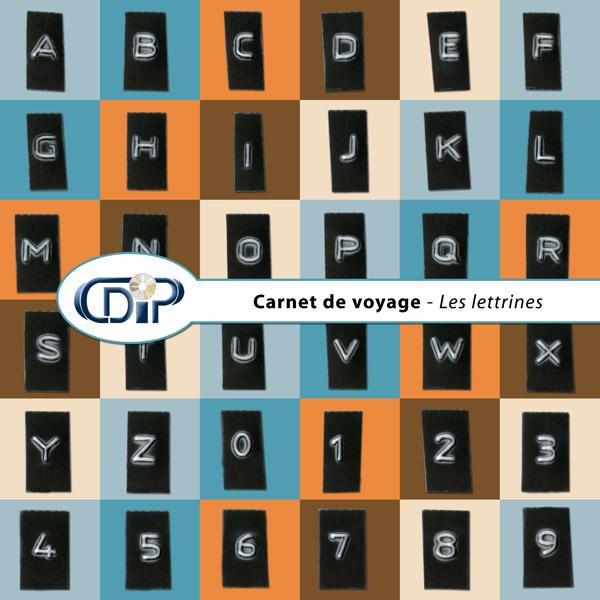 Kit « Carnet de voyage » - 07 - Les lettrines