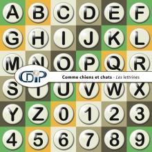 Kit « Comme chiens et chats » - 07 - Les lettrines